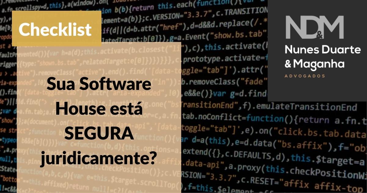 [eBook - Checklist] Sua Software House está SEGURA juridicamente?