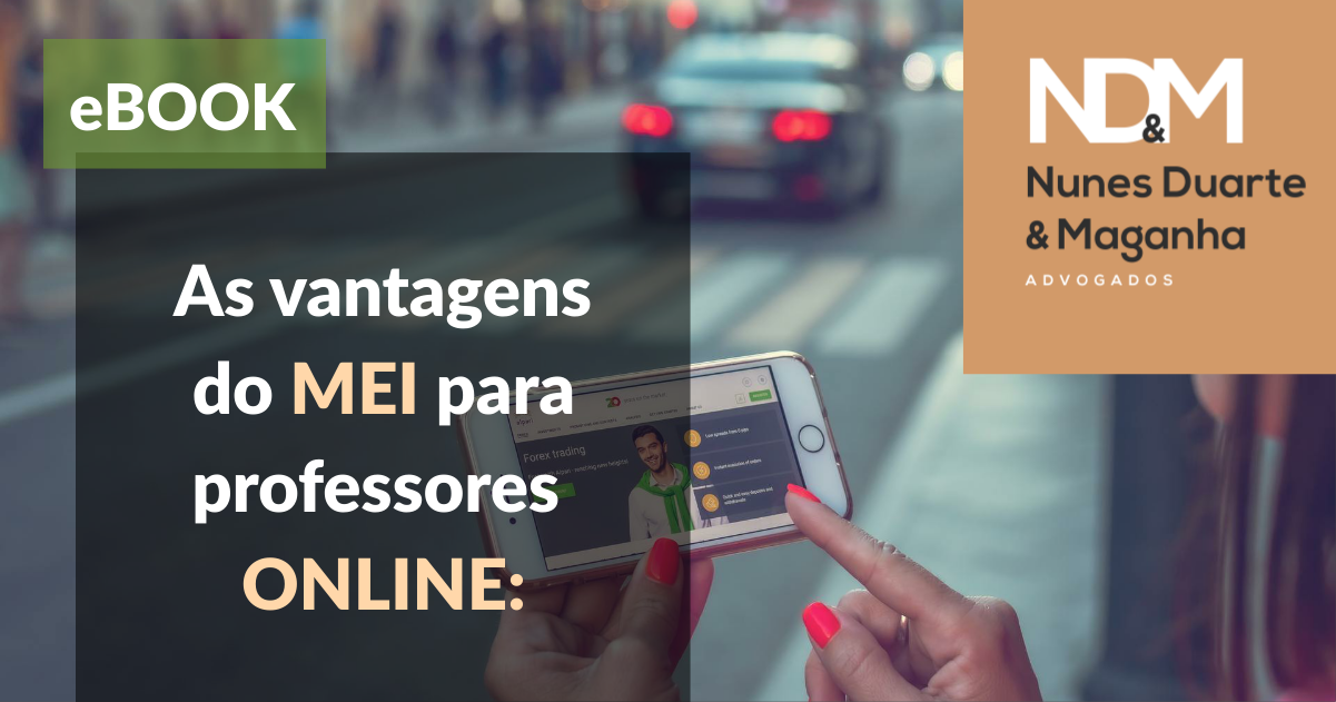 [eBook] As vantagens do MEI para professores ONLINE