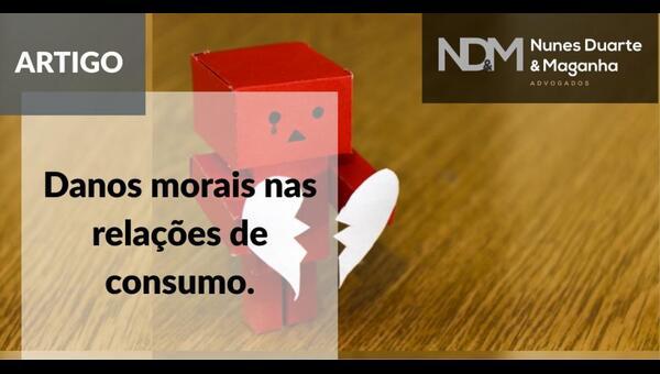 Danos morais nas relações de consumo