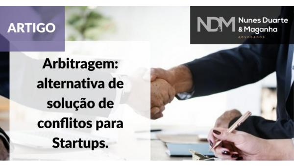 Arbitragem: alternativa de solução de conflitos para Startups