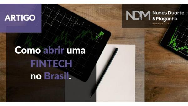 Como abrir uma Fintech no Brasil