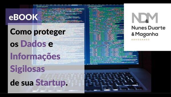 [eBook] Como Proteger os dados e informações sigilosas de sua Startup