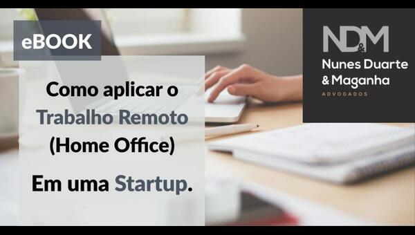 [eBook] Como aplicar o Trabalho Remoto (Home Office) em sua Startup