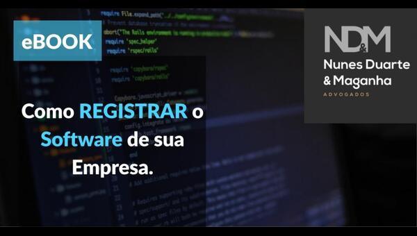 [eBook] Como registrar o software de sua empresa