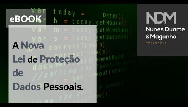 [eBook] A Nova Lei de Proteção de Dados Pessoais