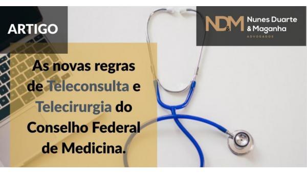 As novas regras de Teleconsulta e Telecirurgia do Conselho Federal de Medicina