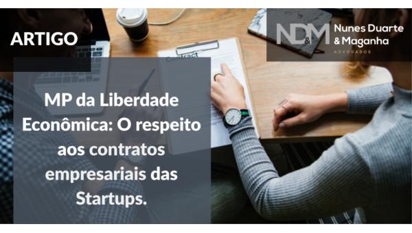 MP da Liberdade Econômica: o respeito aos contratos empresariais das Startups
