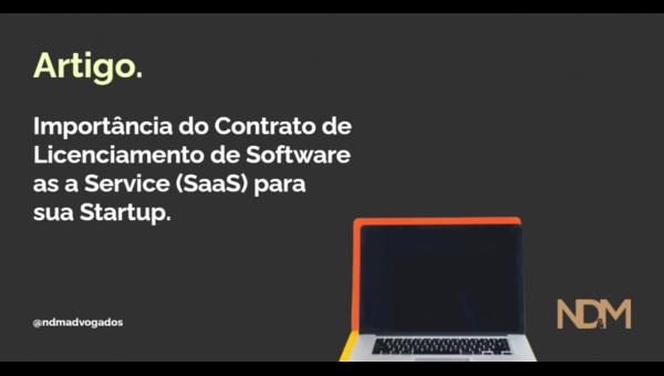 Importância do Contrato de Licenciamento de Software as a Service (SaaS) para sua Startup