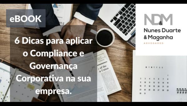 [eBook] 6 Dicas para aplicar o Compliance e Governança Corporativa na sua empresa