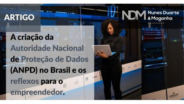 A criação da Autoridade Nacional de Proteção de Dados (ANPD) no Brasil e os reflexos para o empreendedor